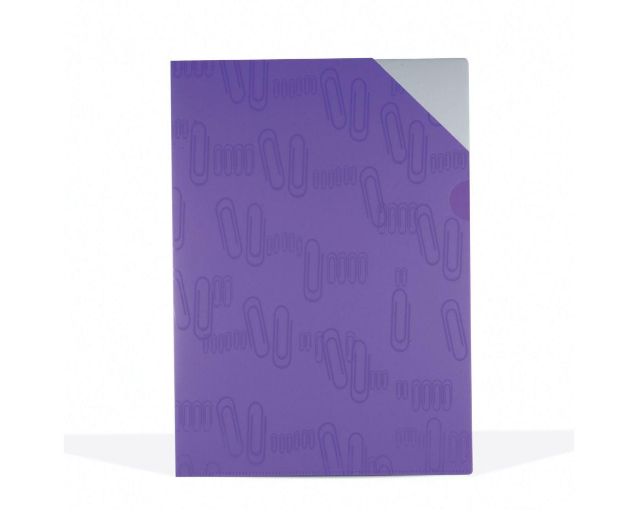 color morado transl/úcido Exacompta Linicolor Bandeja de correo